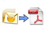 Convert Multiple Outlook Emails to PDF Adobe in Batch