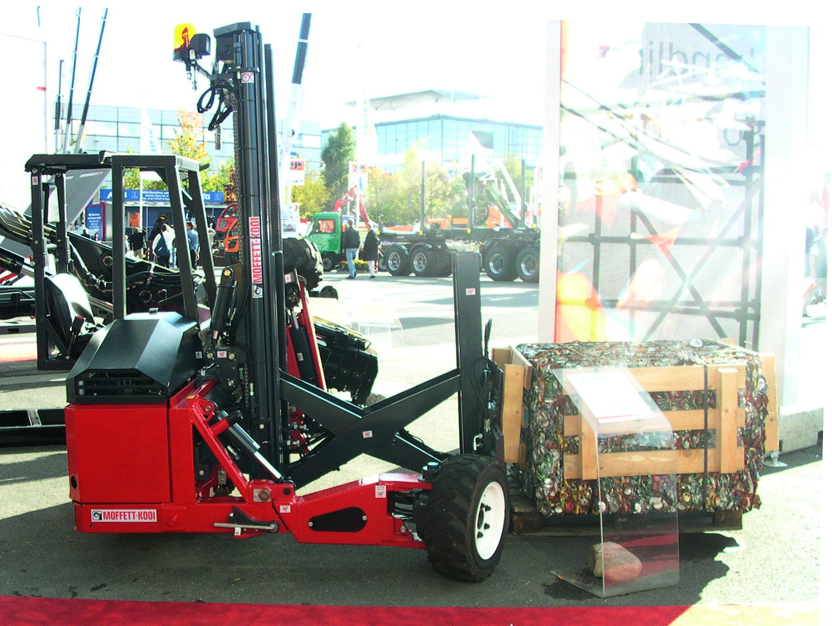 6 Benefits of Buying Used Moffett Forklift for Sale